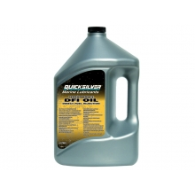 Масло 2-х тактное Quicksilver Optimax DFI outboard oil 858037QB1, 4л